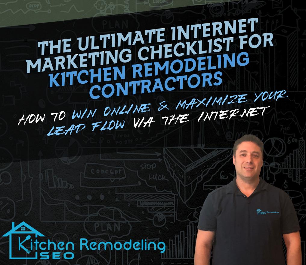 Kitchen remodeling lead generation checklist