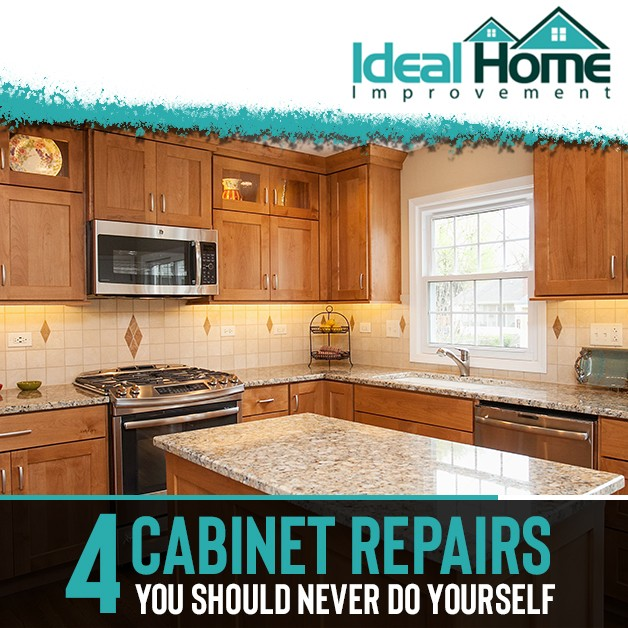 4 Cabinet Repairs You Should Never Do Yourself