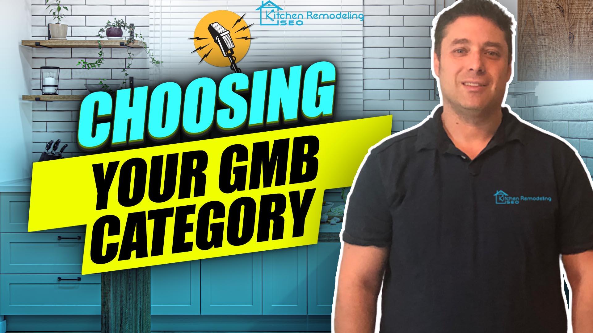 choosing your GMB Categories