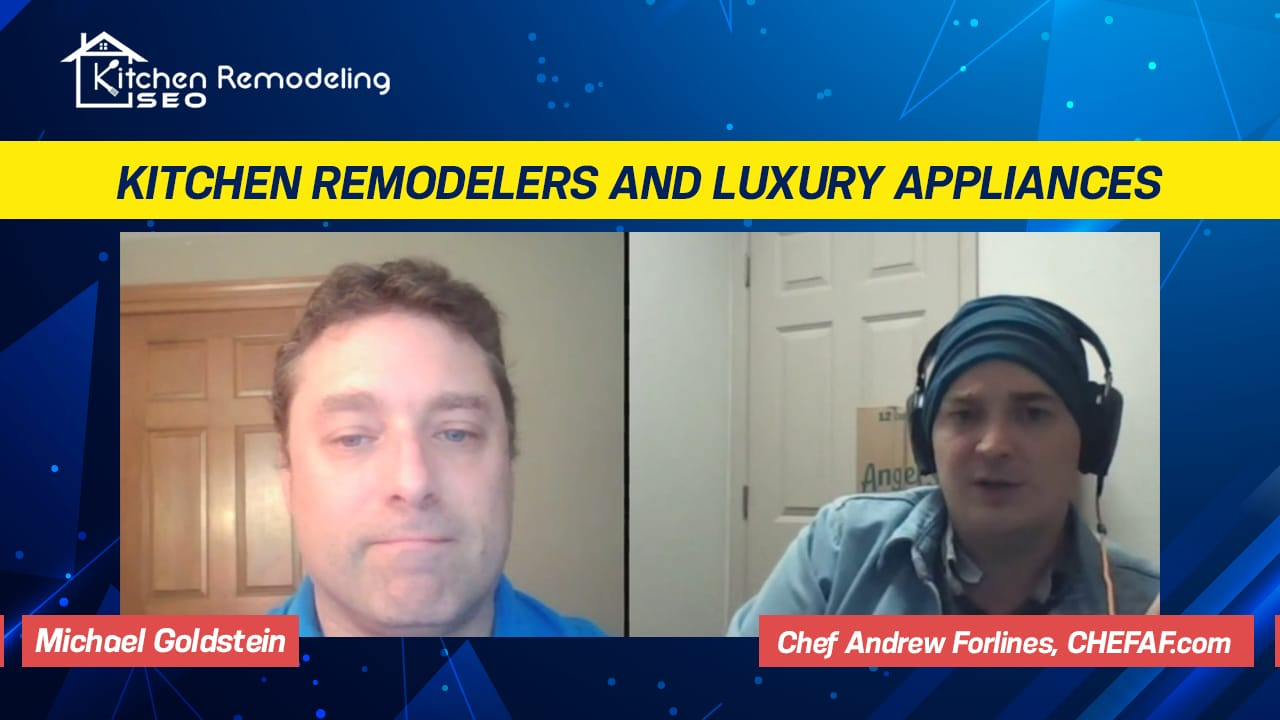 Chef Andrew Forlines interviewed about incorporating modern kitchen appliances with home remodeling projects