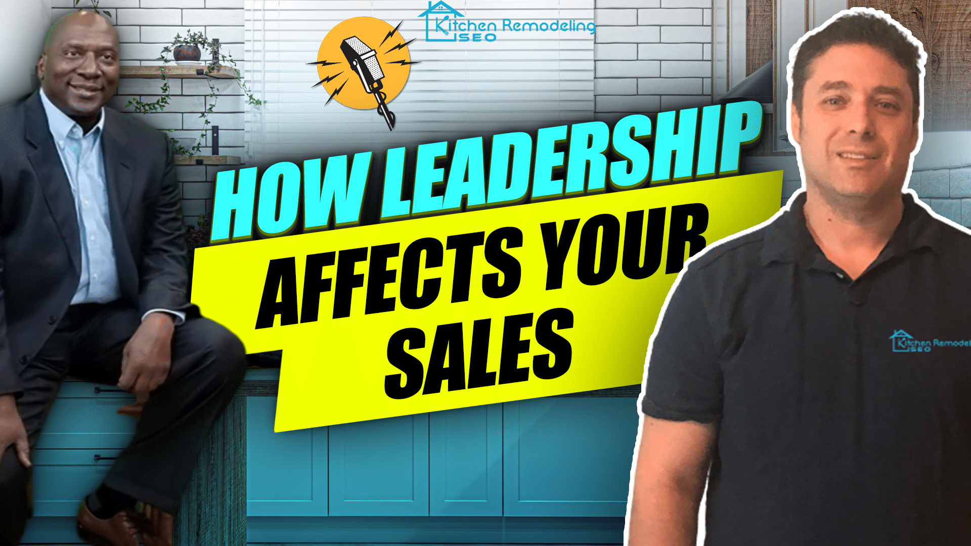 podcast cover about how leadership can improve sales